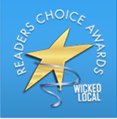 Wicked Local Readers Choice Awards logo