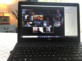 Virtual Coffee Connections attendees