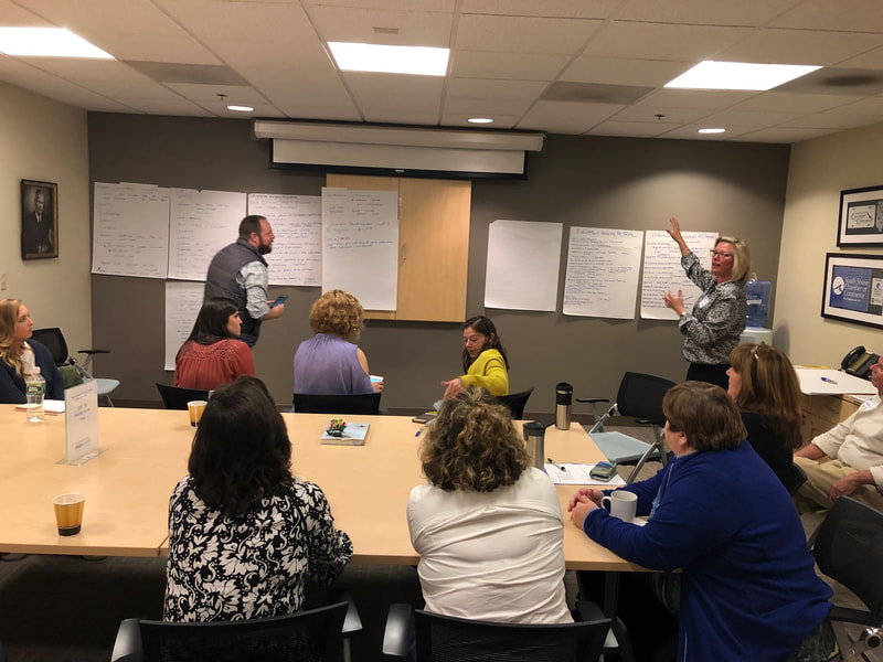 NPO Group's first Bagels & Best Practices Roundtable